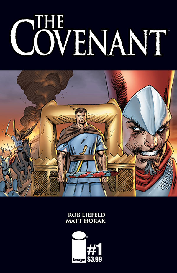 Oh me oh my! We got something truly special here. From infamous creator Rob Liefeld, let's take a look at a brand new comic from Image: The Convenant. Is it good?