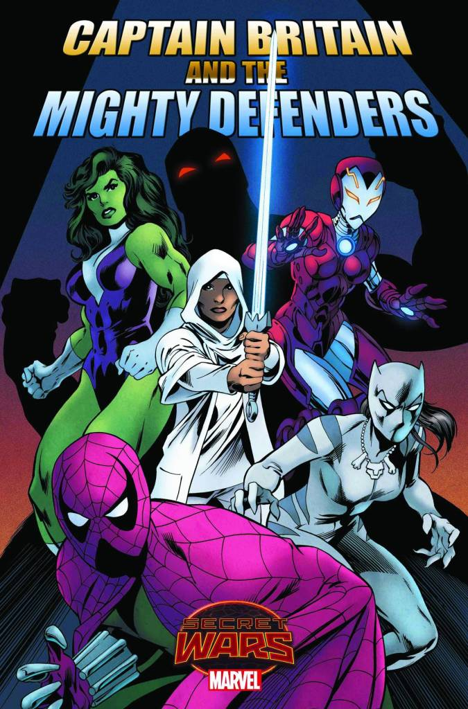 Captain Britain and the Mighty Defenders 1 Cover