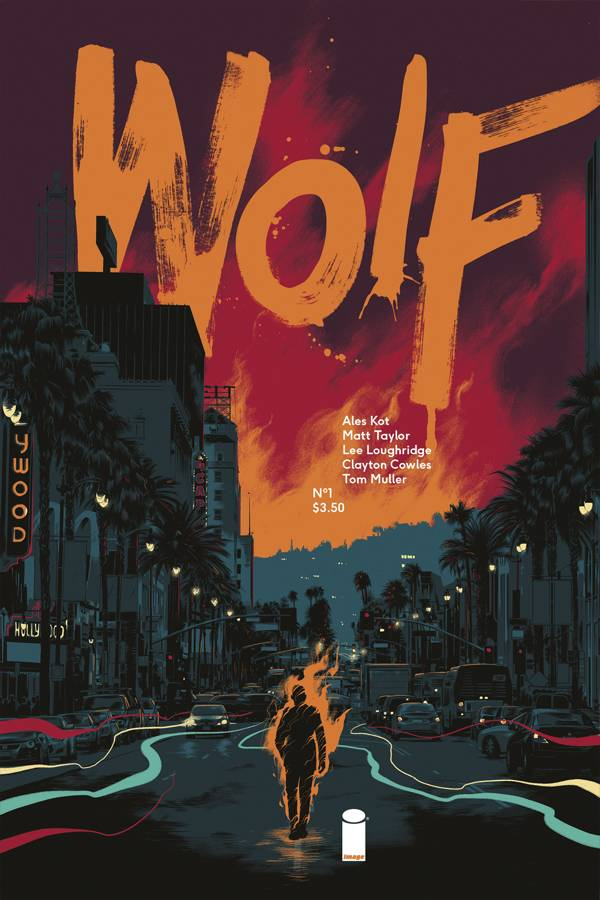 Wolf #1 Cover