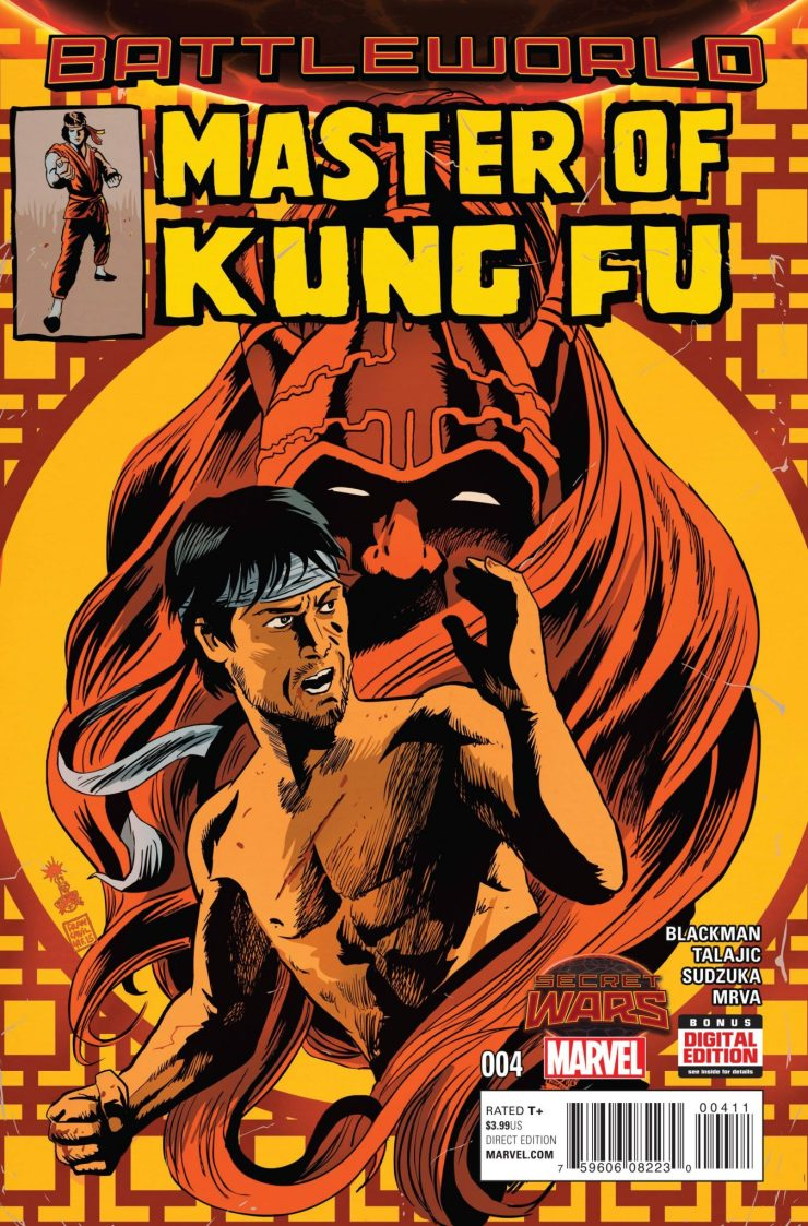 Is It Good? Master of Kung Fu #4 Revew