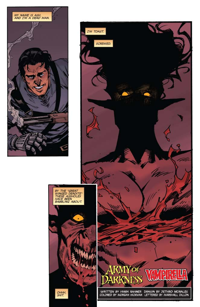Is It Good? Vampirella / Army of Darkness #2 Review