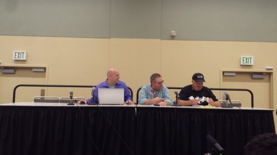 "On Friday at the Baltimore Comic Con, Dynamite Entertainment had their ""The Next Ten Years"" Panel which included Ron Marz, who is currently writing John Carter: Warlord of Mars, Francesco Francavilla, cover artist for The Avenger and the upcoming James Bond comic, and Dynamite's own Keith Davidsen."