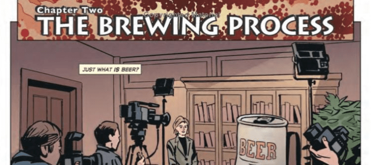 "Drink and Think with ""The Comic Book Story of Beer"""