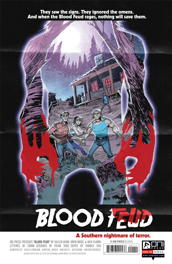 Oni Press Preview: Blood Feud #1