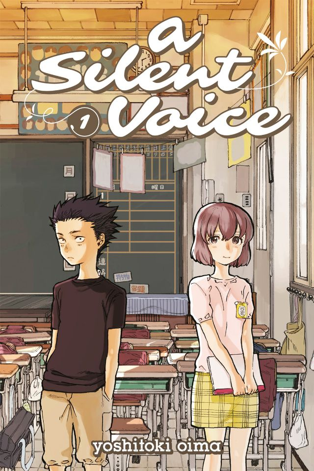 A Silent Voice Vol. 1 Revew