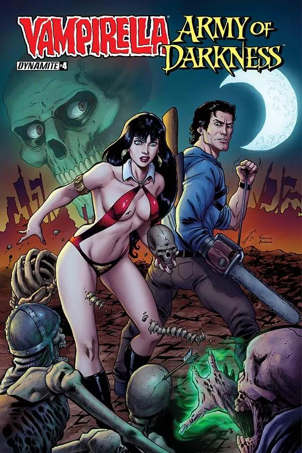 Vampirella / Army of Darkness #4 Review