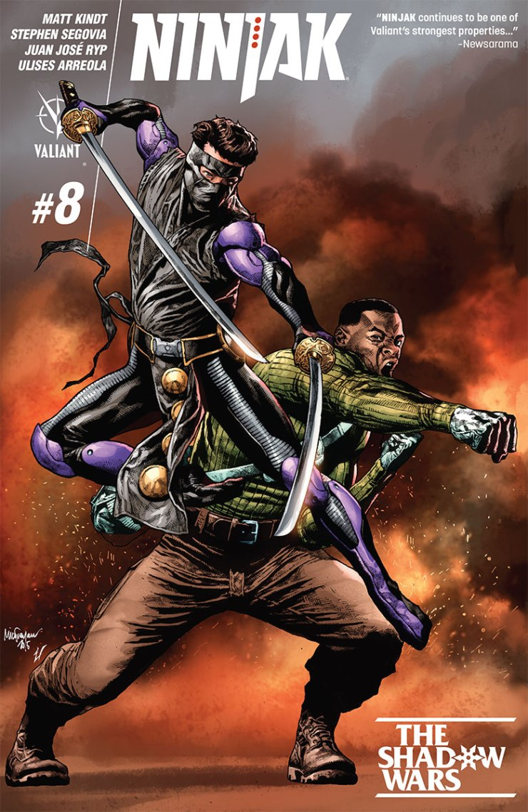 Valiant Preview: Ninjak #8, Unity #23, X-O Manowar #41