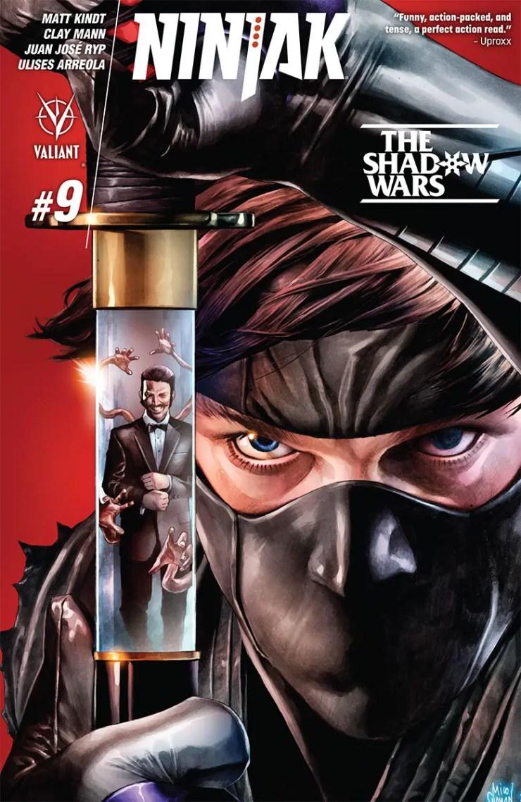 Valiant Preview: Ninjak #9