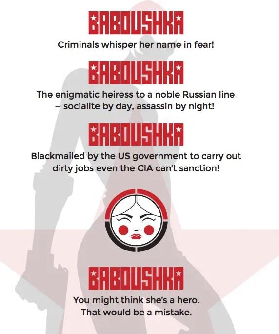 Codename Baboushka #1 Review
