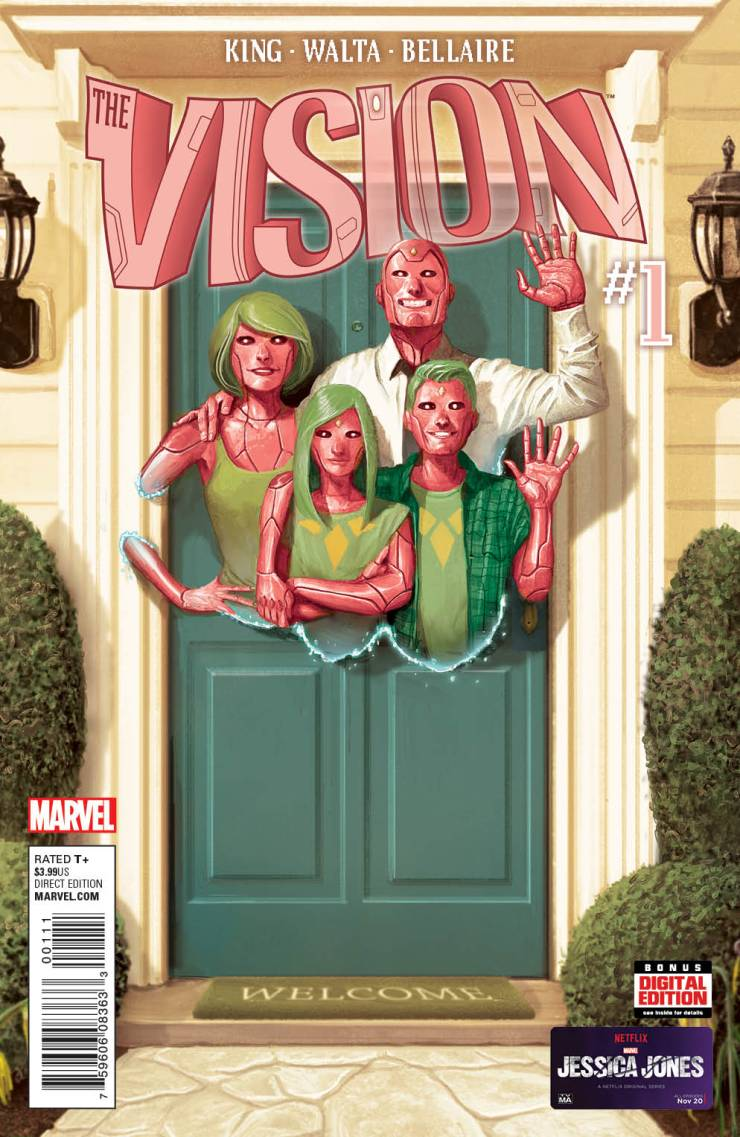 Marvel Preview: The Vision #1