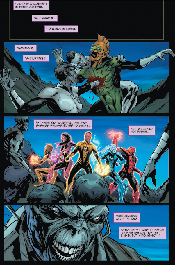 Star Trek/Green Lantern: The Spectrum War #4 Review