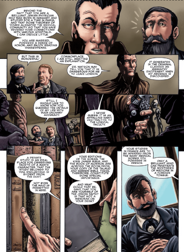Sherlock: The Seven Per-Cent Solution #3 Review
