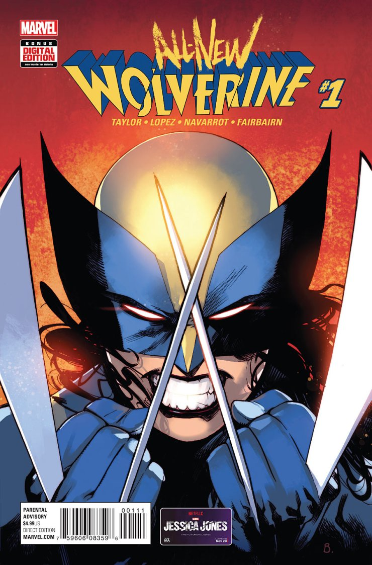 So… Wolverine is still dead and isn't coming back for quite some time if I had to guess. However, Marvel has decided to put someone else in the role for the time being: Laura Kinney, aka X-23. With Tom Taylor writing, is this a change for the better? Is it good?