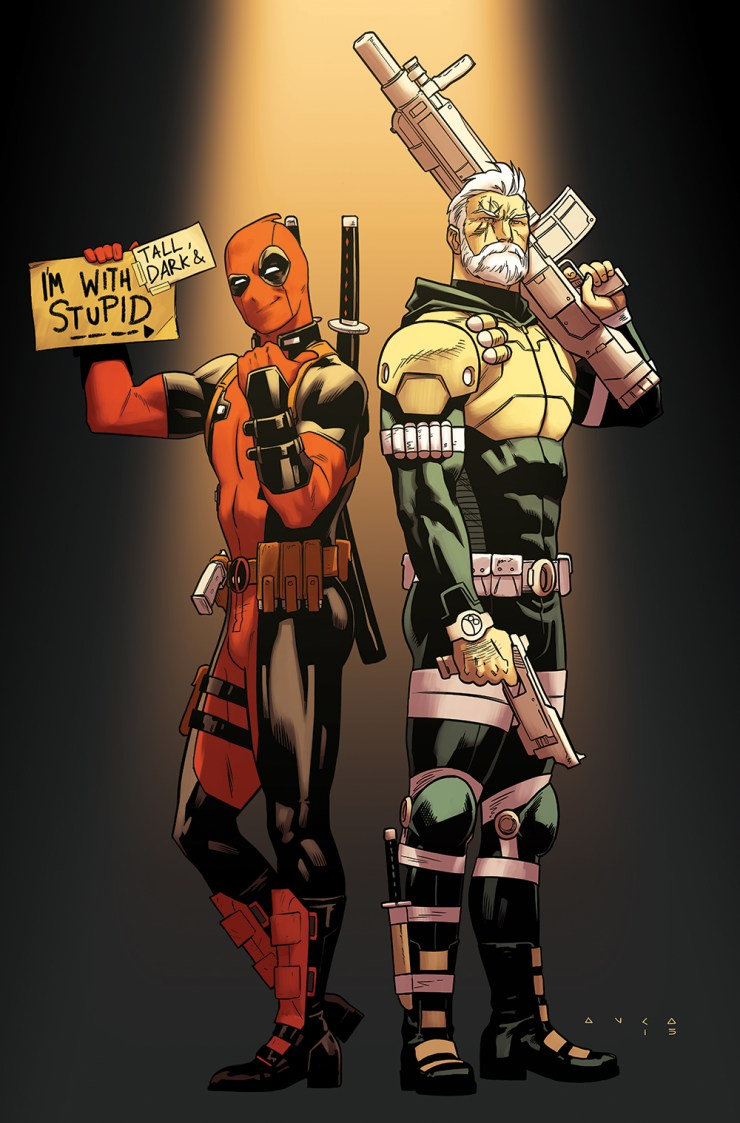 Marvel Preview: Deadpool & Cable: Split Second #1