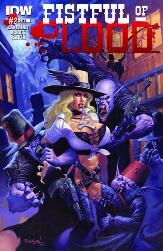 Fistful of Blood #2 Review
