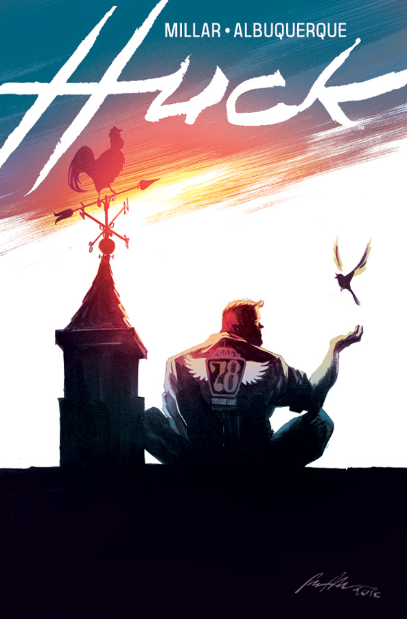 Huck #1 Advance Review