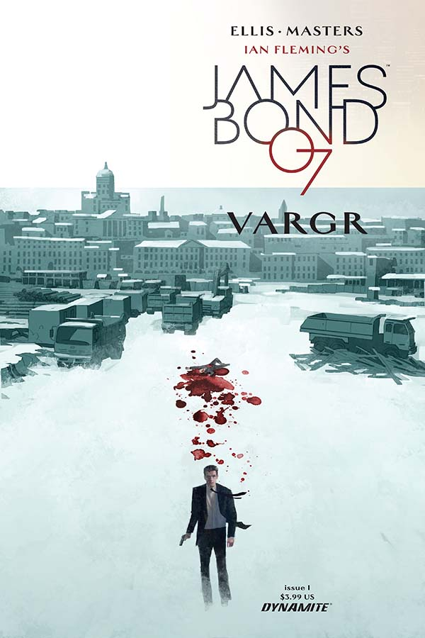 A new James Bond flick comes out in the USA this week and so does this comic written by star comic book writer Warren Ellis. Am I in heaven? Is it good?