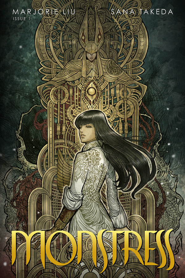 I'm usually not one to try to get excited or eager about a book that was announced with only a small premise and a teaser image. It helps me avoid building up some idea or expectation about a book before I get to read it. However, Monstress was the exception to that rule when it was first announced during the Image Expo. Something about the premise just stood out to me and got me excited. We can finally see if the wait has been worth it. Is it good?