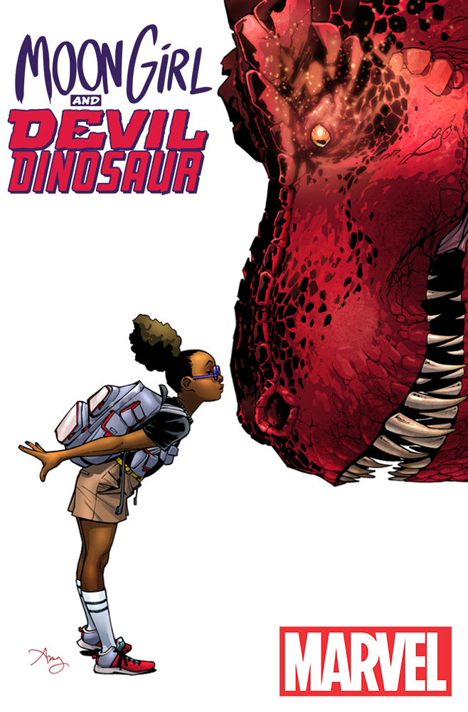Marvel Preview: Moon Girl and Devil Dinosaur #1