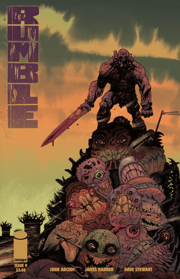 Rumble #9 Review