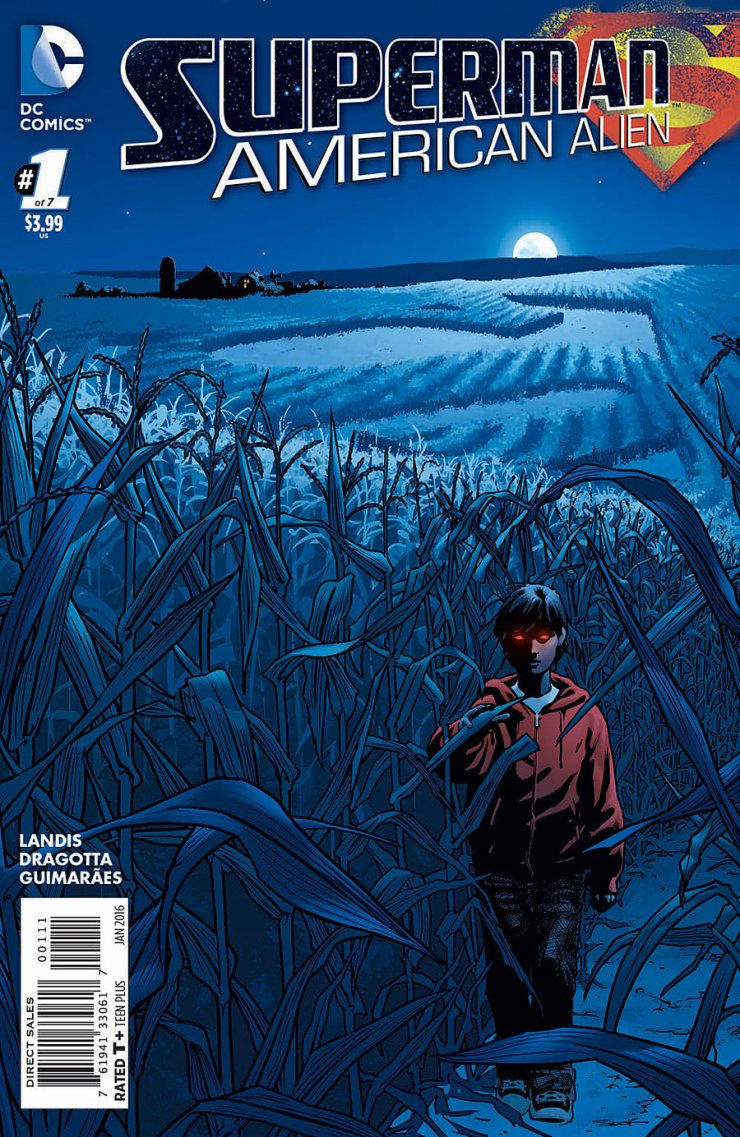 From the writer of movies Chronicle and American Ultra, Max Landis' Superman: American Alien gives us a Superman comic about Clark Kent's early years. This seems like an area we've already visited a few times, but let's give this a shot and see what Landis has in mind. Is it good?
