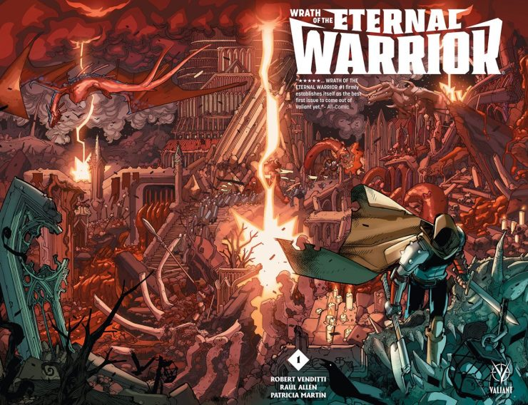 Valiant Preview: Wrath of the Eternal Warrior #1