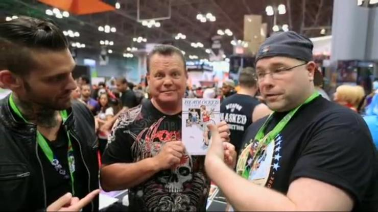 """Michael Kingston's """"Headlocked"""" Clamps Down on NYCC 2015"""
