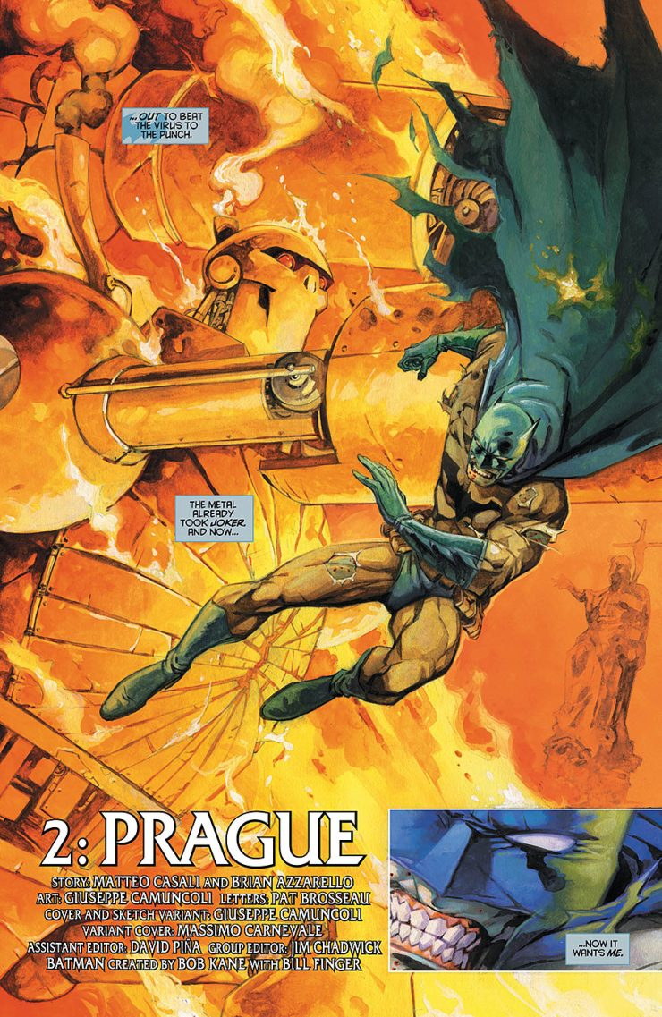 Batman: Europa #2 Review
