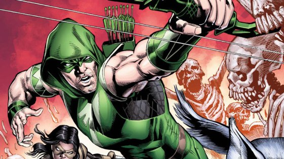 One of the reasons Green Arrow is such a great character is because he has a storied past that's rather emotional. Most heroes puff out their chest and show they're nearly invulnerable, but Arrow has faced some seriously messed up stuff. In his latest series he faces an undead Day of the Dead villain with a creepy kid by his side...yikes. Is it good?