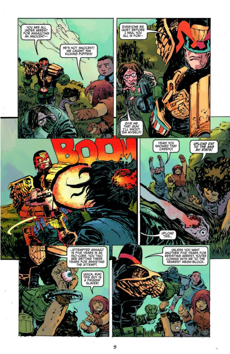 Judge Dredd #1 Review