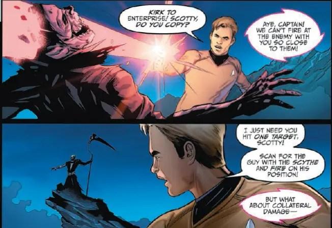 Star Trek/Green Lantern:  The Spectrum War #6 Review