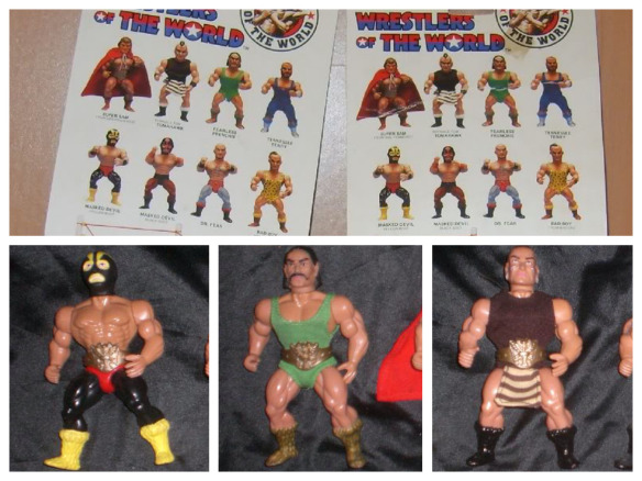 10 Count! Bootleg Wrestling Action Figures