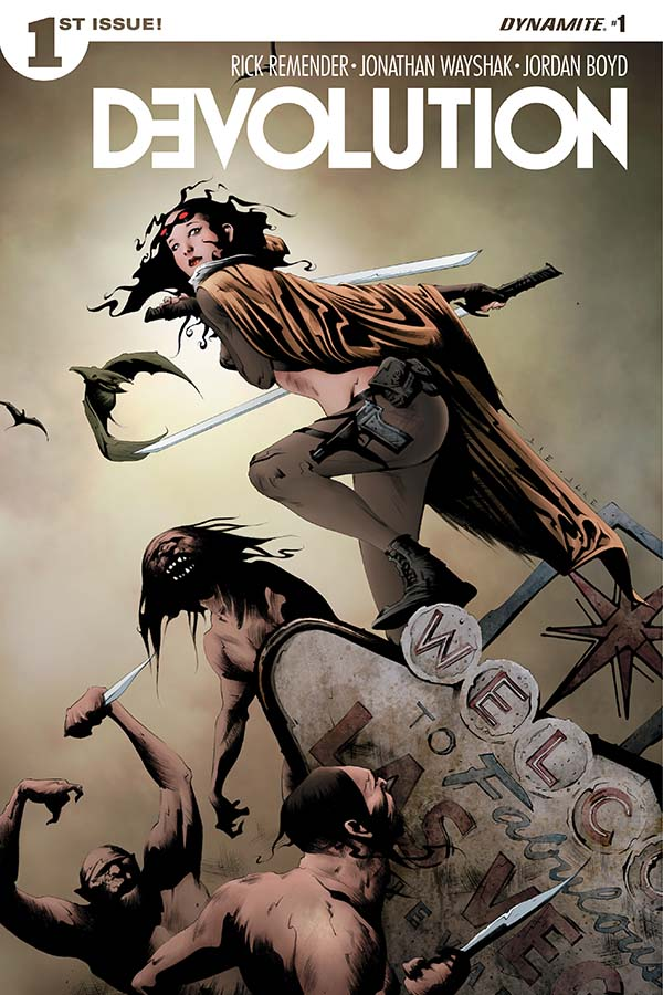 Devolution #1 Review