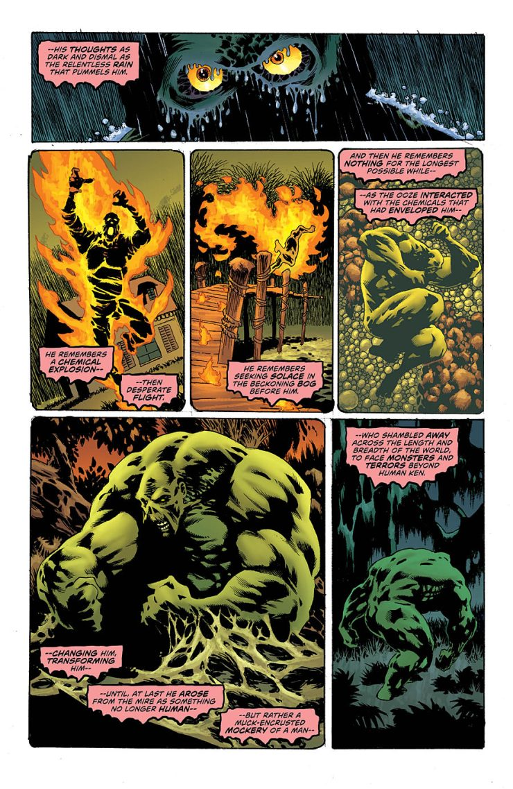 Swamp Thing #1 Review
