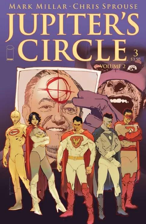 Jupiter's Circle Vol. 2 #3 Review