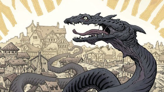 When you think of dragons you think flying fire breathing monsters that are as big as a house. If you're a fantasy fan you know the great worm can come in many forms and last month BOOM! Studios showed us a brand new type with horns! What is in store for issue #2, is it good?