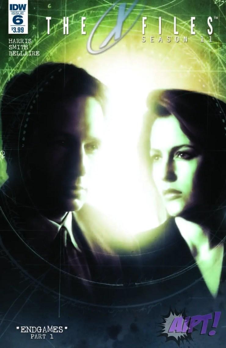 IDW Exclusive Preview: X-Files Season 11 #6