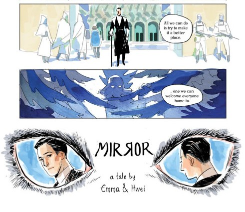 Mirror #1 Advance Review
