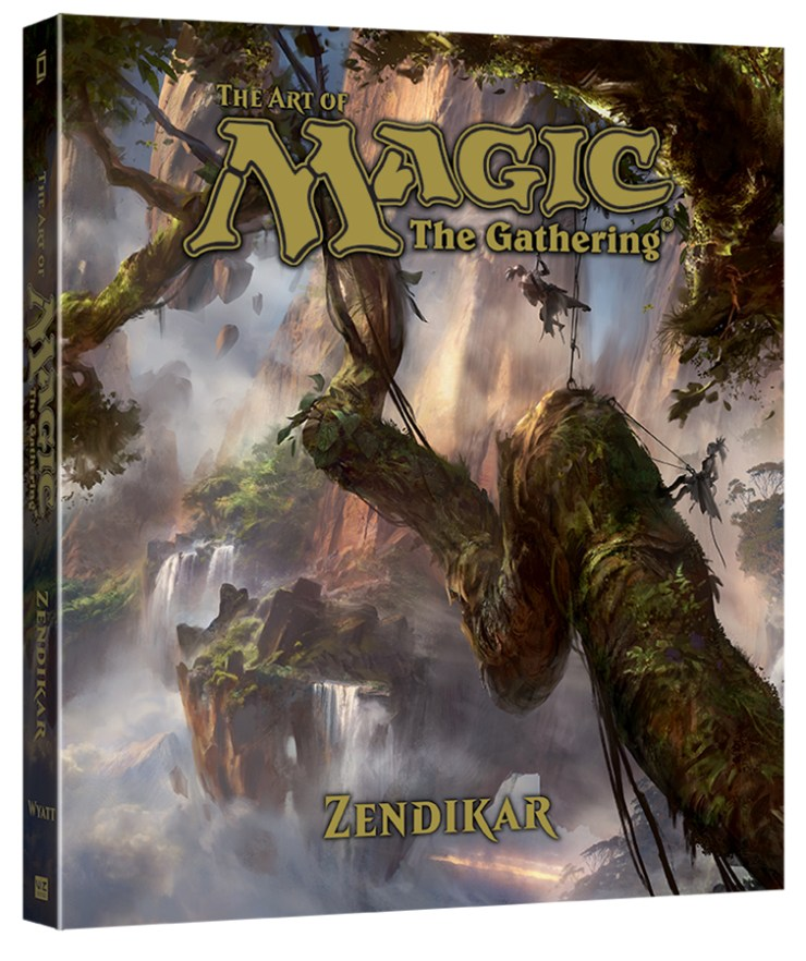 10 Reasons Why 'The Art of Magic: The Gathering:  Zendikar' is Worth Exploring
