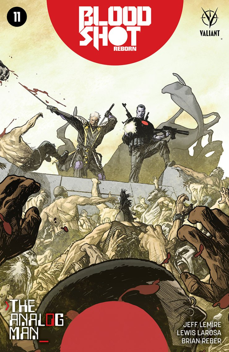 Valiant Preview: Bloodshot Reborn #11