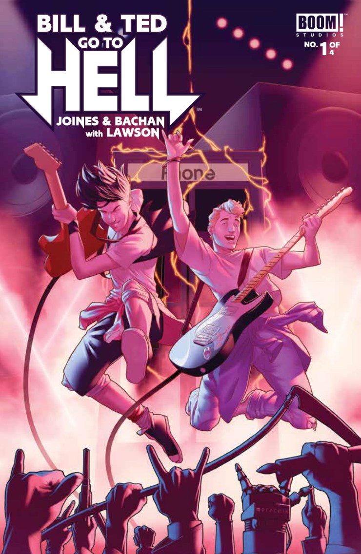 BOOM! Preview: Bill & Ted Go to Hell #1