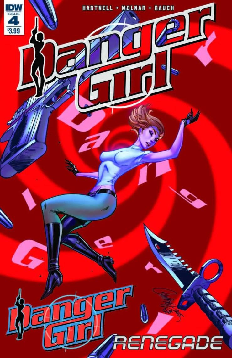 Danger Girl: Renegade #4 Review
