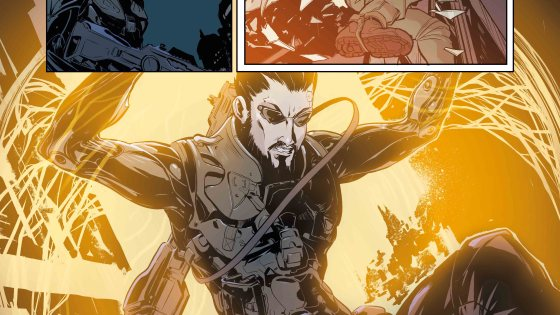 Titan Preview: Deus Ex Universe: Children's Crusade #1