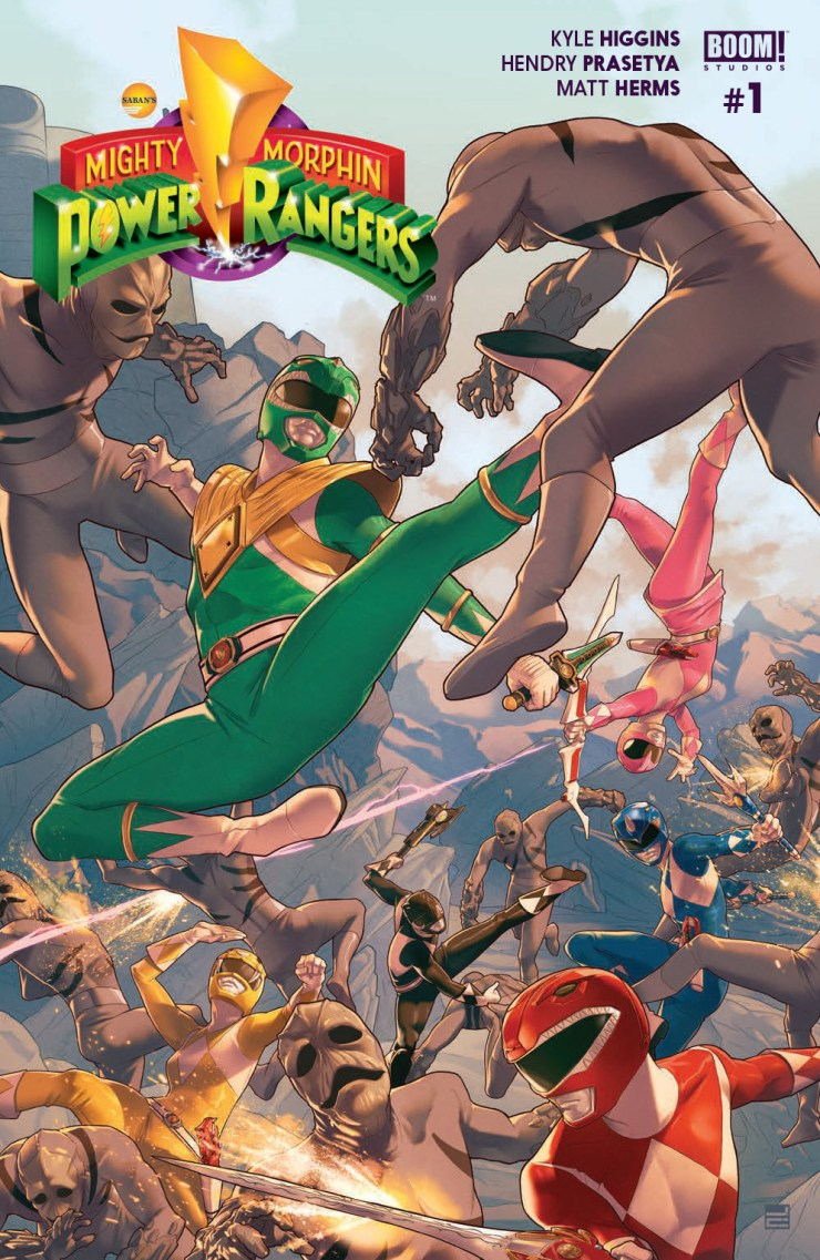 BOOM! Preview: Mighty Morphin Power Rangers #1