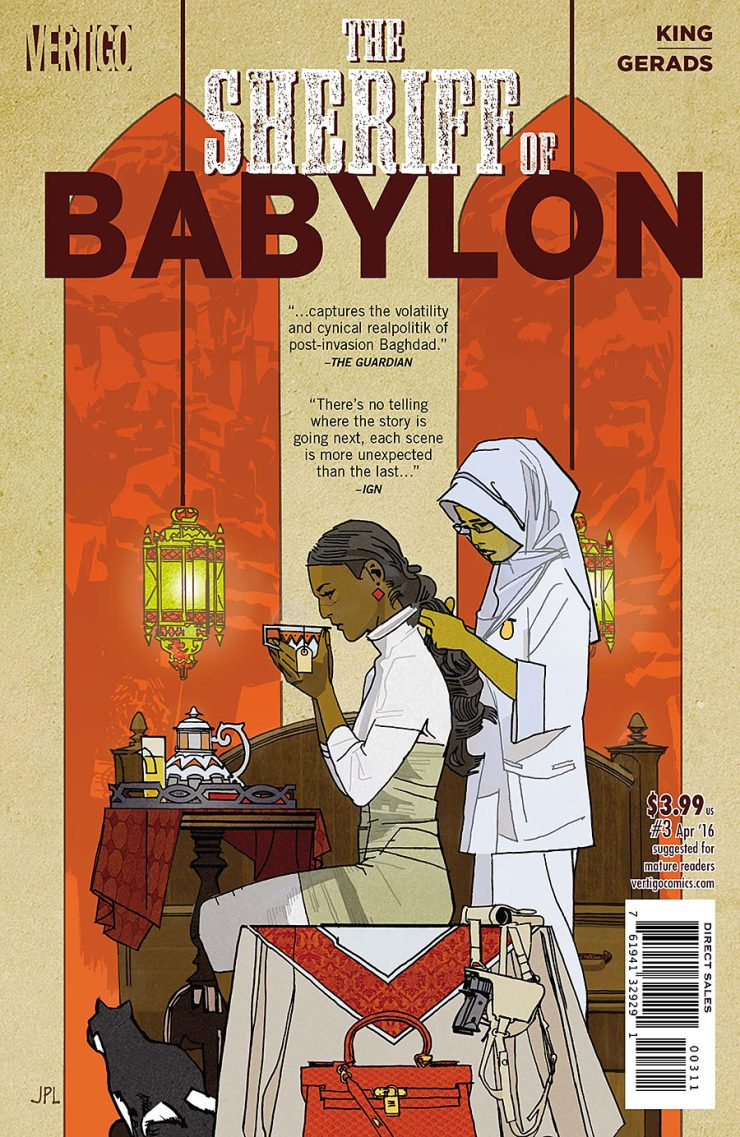 The Sheriff of Babylon #3 Review