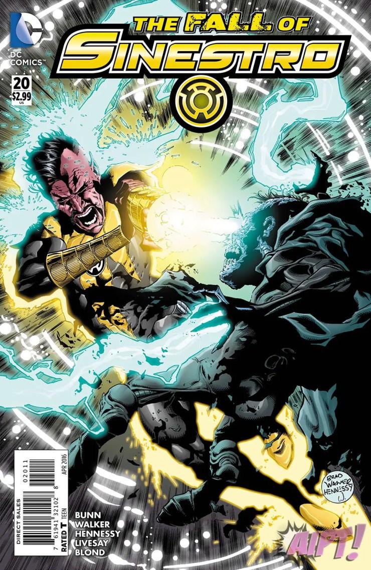 [Exclusive] DC Preview: Sinestro #20