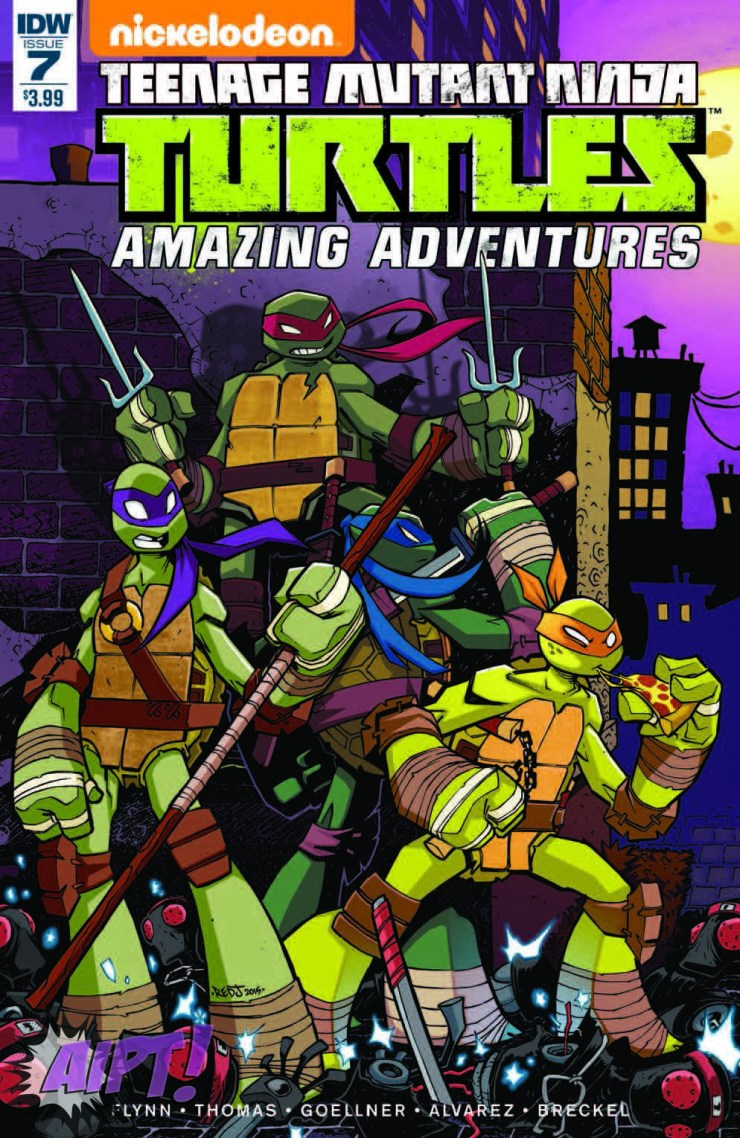 [Exclusive] IDW Preview: Teenage Mutant Ninja Turtles: Amazing Adventures #7