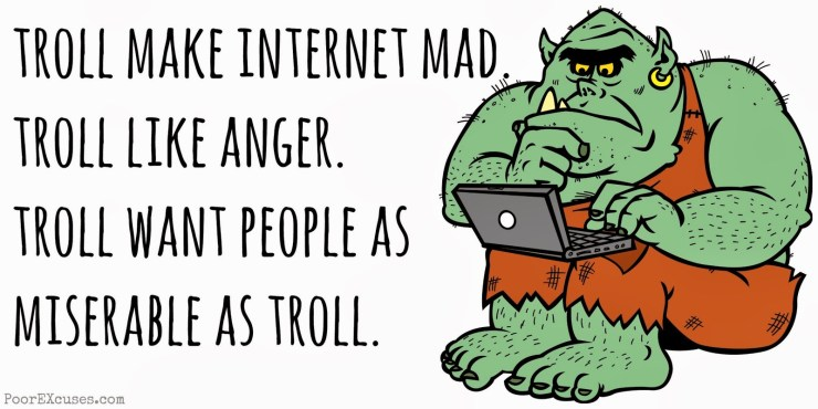 Reality Check:  On Internet Trolls and Snake Oil Salesmen