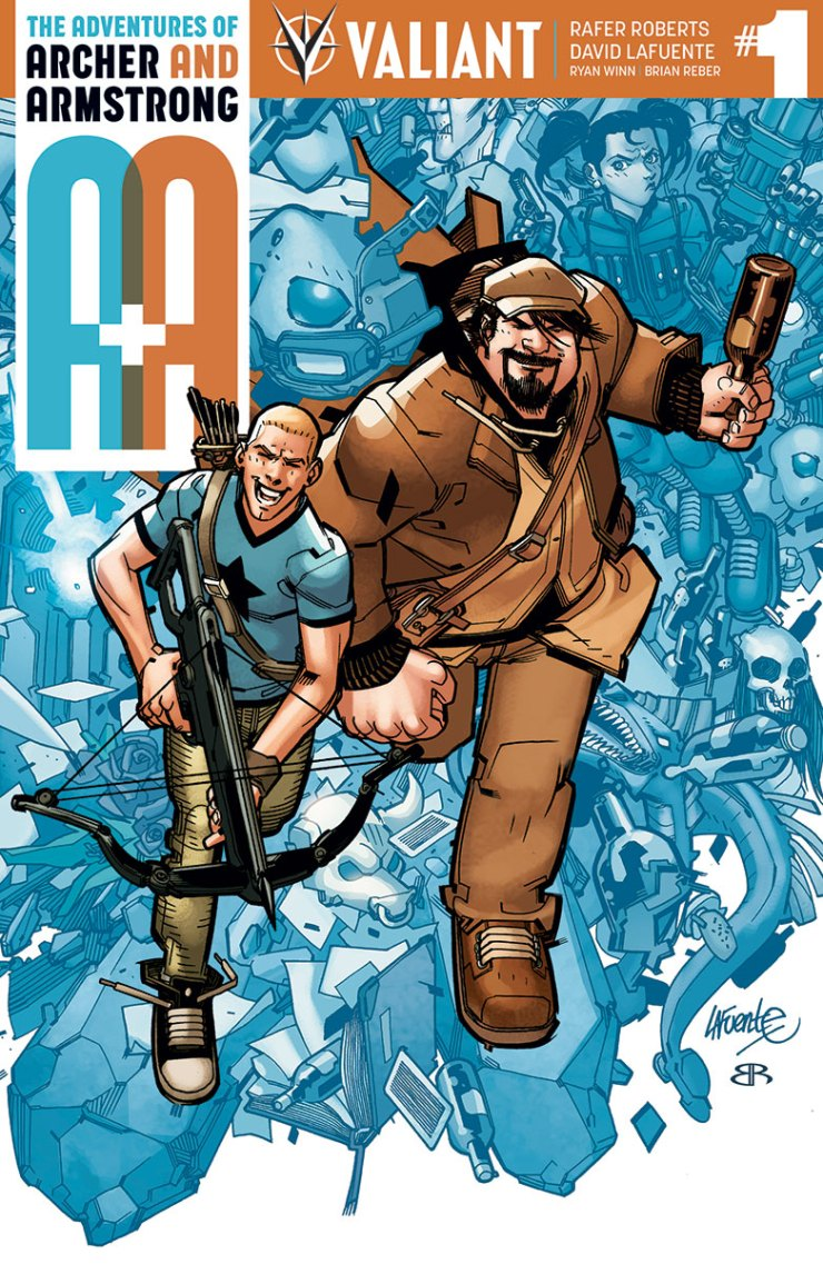 Valiant Preview: A&A: The Adventures of Archer & Armstrong #1