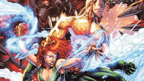 The 50th issues continue at DC Comics as Aquaman has some major developments this month and the promise of Aquawoman! That sounds like a 50th issue level reveal, but is it good?